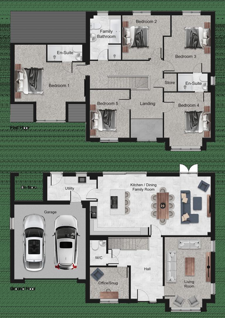 Beaumont Floor Plan
