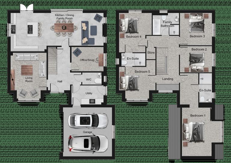 Dunsford Floor Plan